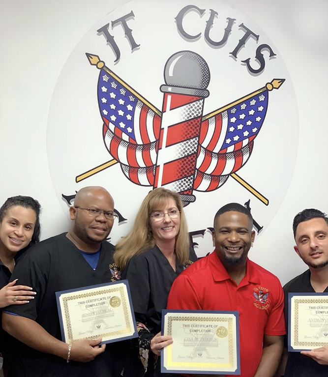 Graduation, Certified, Barber, JT'sCutsAcademy, Barbershop, BarberAcademy, HairCuts, Learning, Barber, HandsOnExperience, FamilyOwned, FamilyEnvironment, InstructorsWhoCare, HairCare, Beauty, Swag, Passion, Dedication, PreciseCuts, Education, SmallClassSize, Stylist, Artist, Shave, Trim, Beards, BlowOuts, CloseShave, Fade, Fades, HairLine, Round, Square, BuzzCut, Razor, HairStraighten, Perm, HairCurl, HairColor, Dye, HairDyes, FlatTop, CrewCut, Mohawk, HairDesign, HairDresser, Hair, EyeBrows, Chin, HotTowel, WaterVapor, Shampoo, HairShampoo,Shears, Scissors, Comb, Brush